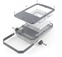 Корпус светодиодного прожектора с универсальным креплением CLIO F220 завода FALDI
