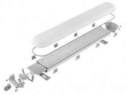 Корпус светодиодного промышленного светильника PRIME-600 завода FALDI