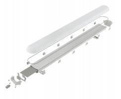 Корпус светодиодного промышленного светильника PRIME-970 завода FALDI